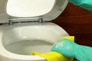 Détartrage des wc avec de l'acide citrique