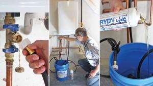procédure de détartrage chauffe eau